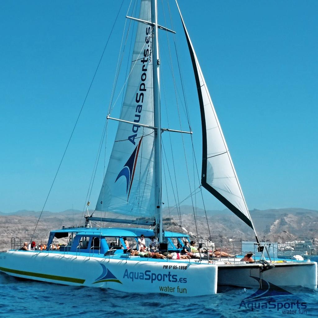 Catamarán en  Gran Canaria